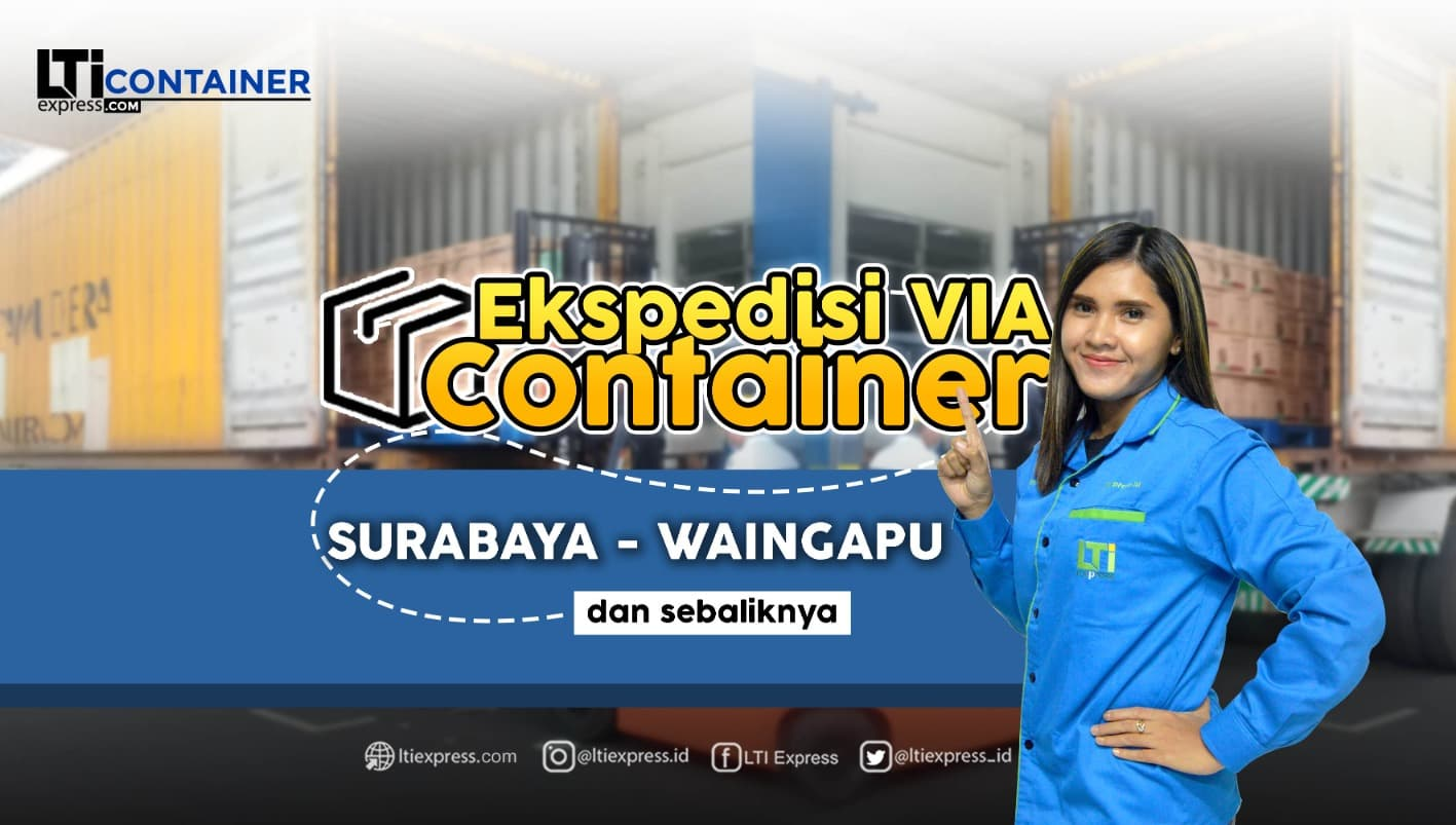 ekspedisi container surabaya waingapu