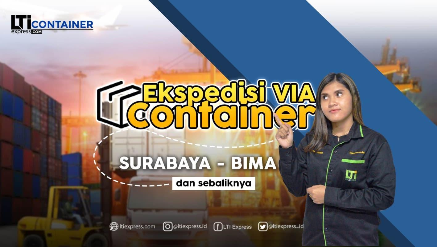 ekspedisi container surabaya bima