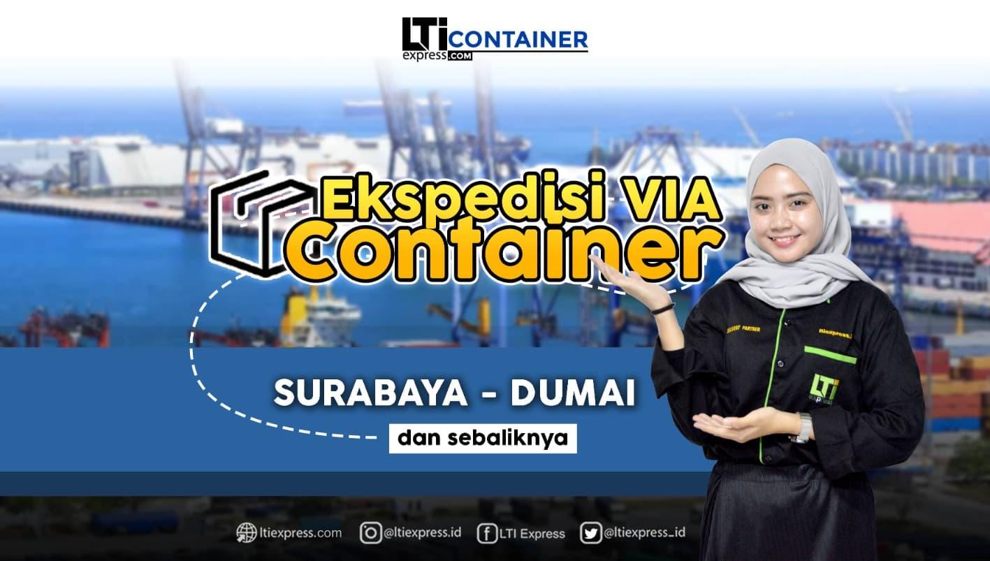 ekspedisi container surabaya dumai
