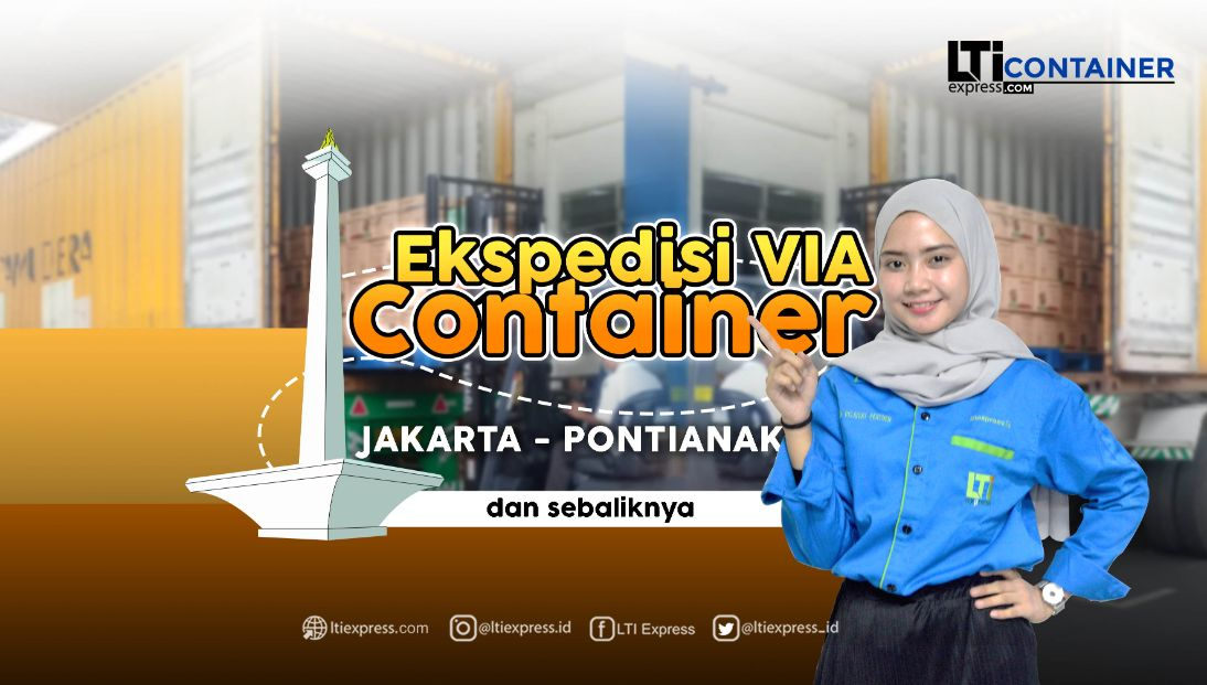 ekspedisi container jakarta pontianak