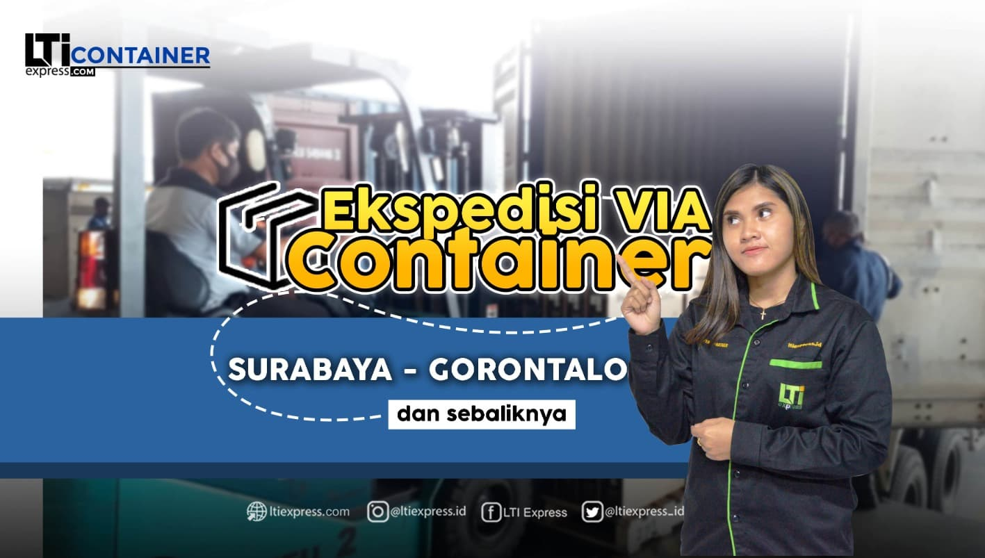 ekspedisi container surabaya gorontalo