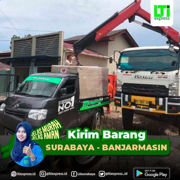 Ekspedisi Surabaya Banjarmasin
