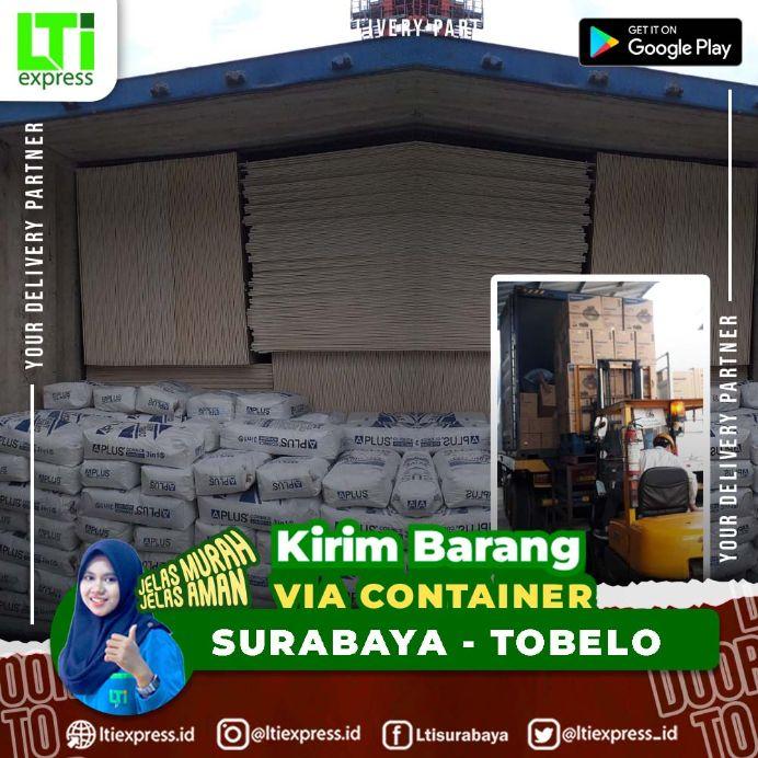 container surabaya tobelo