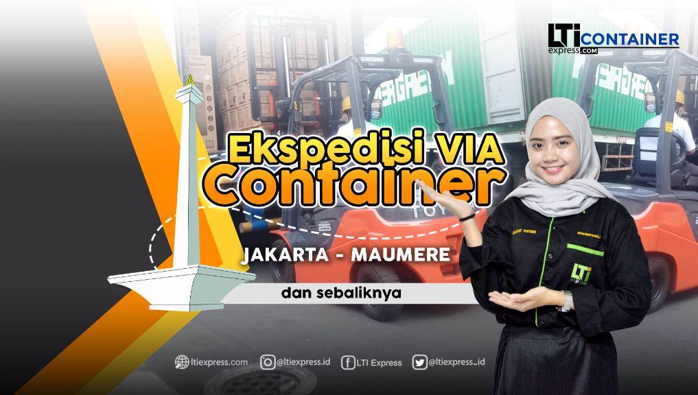 ekspedisi container jakarta maumere