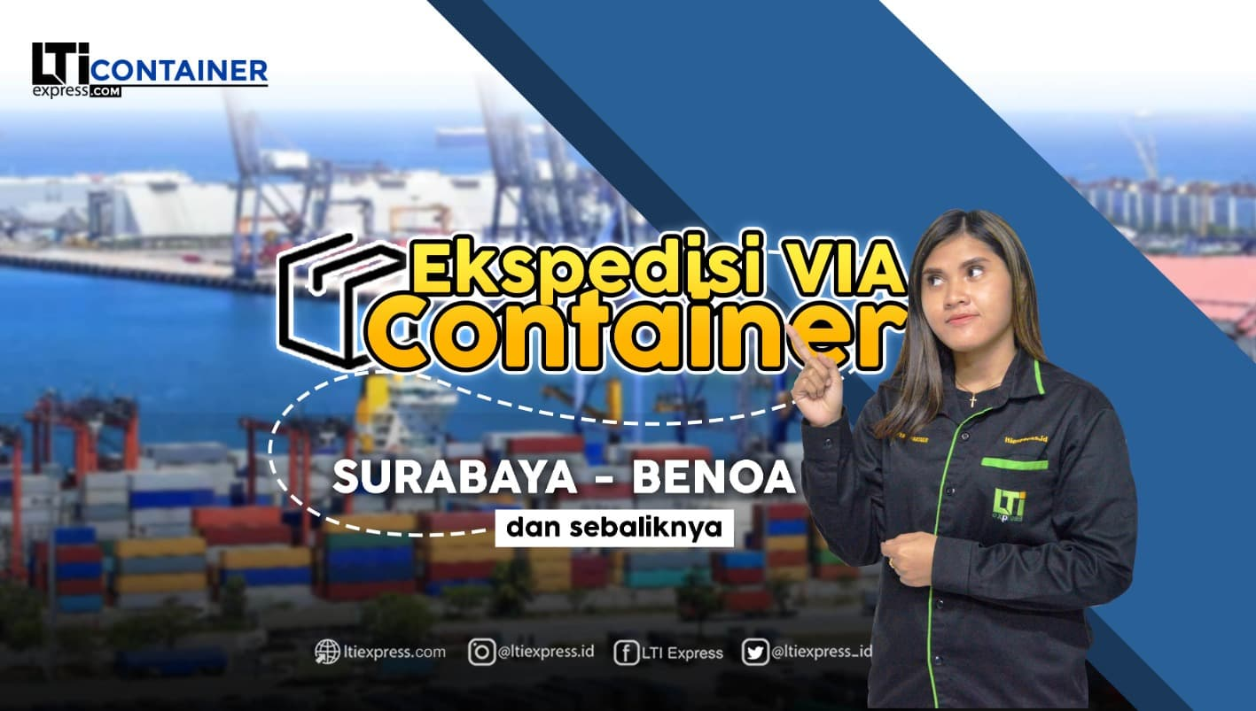 ekspedisi container surabaya benoa