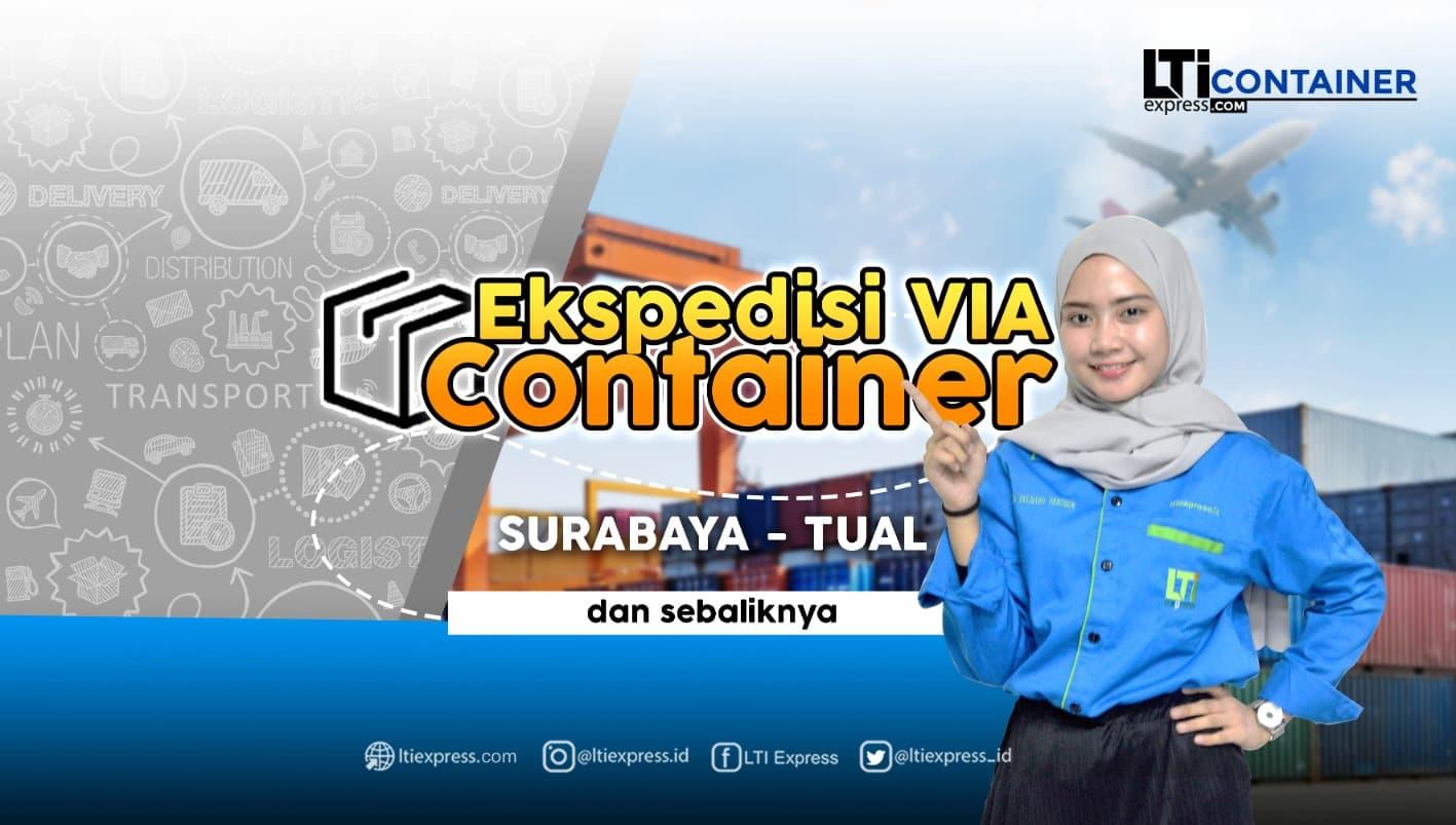 ekspedisi container surabaya tual