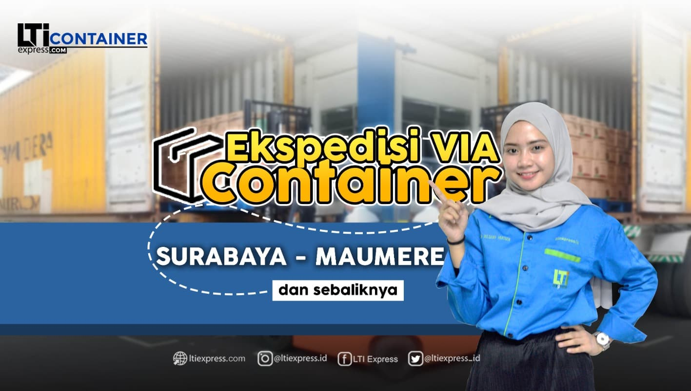 ekspedisi container surabaya maumere