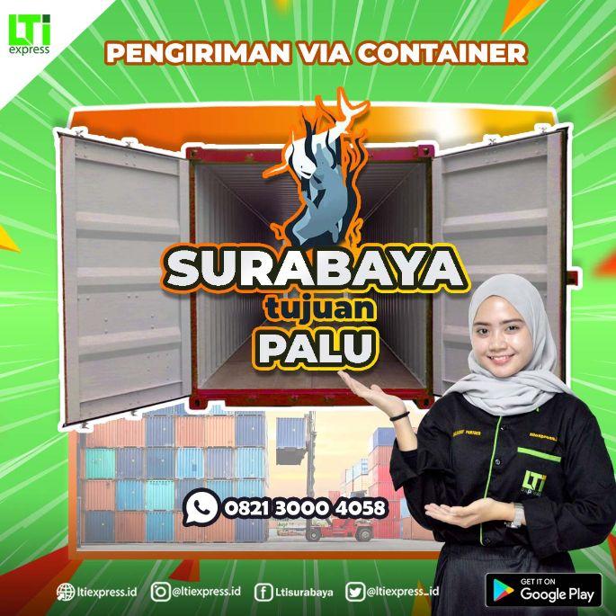 ekspedisi container surabaya palu