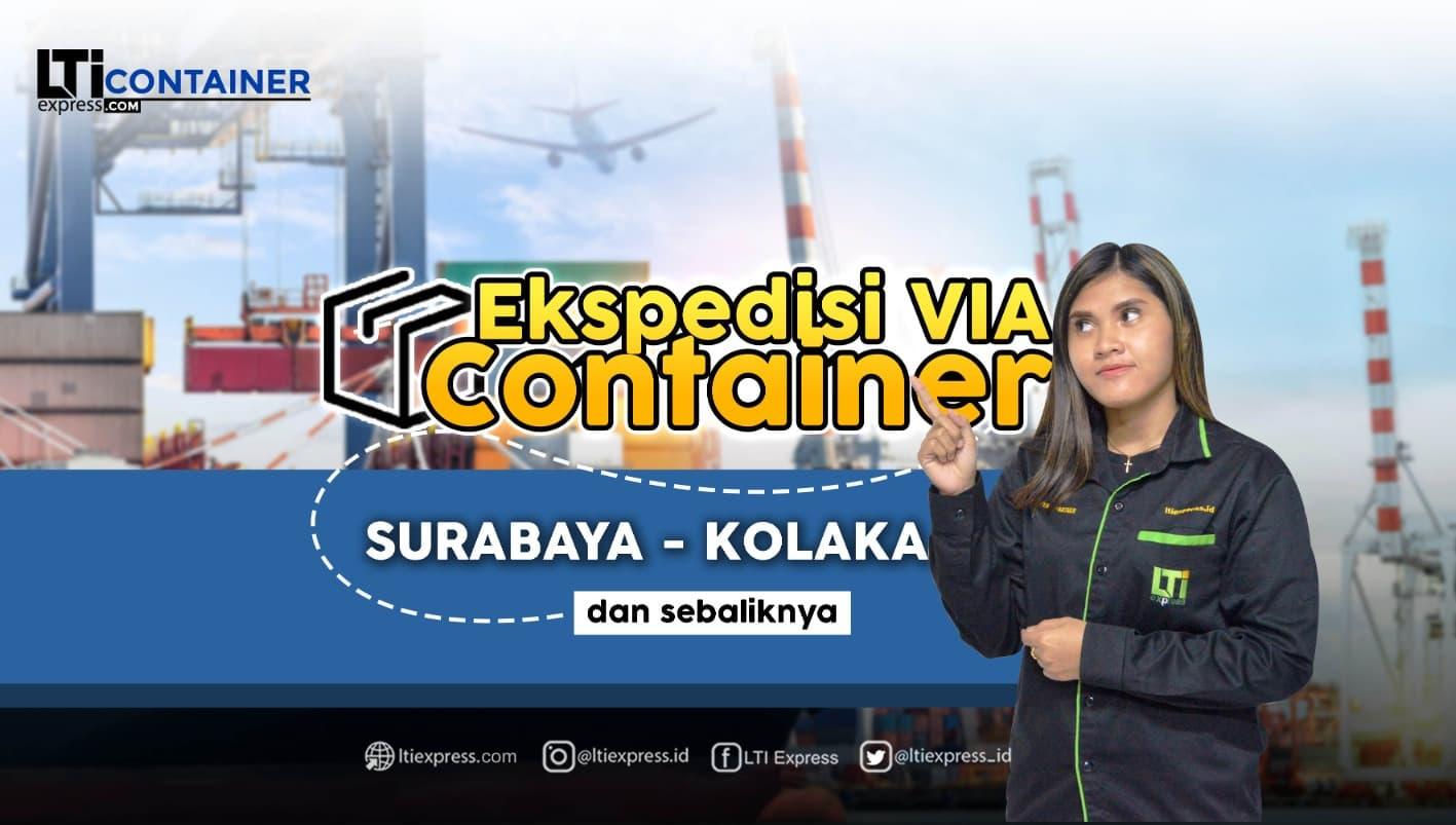 ekspedisi container surabaya kolaka