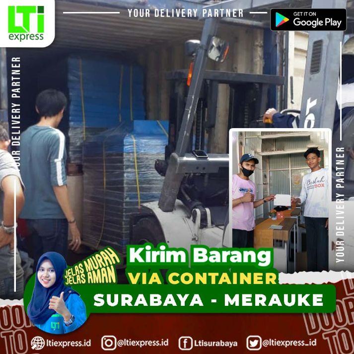 container surabaya merauke
