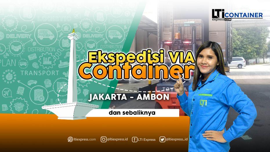 ekspedisi container jakarta ambon