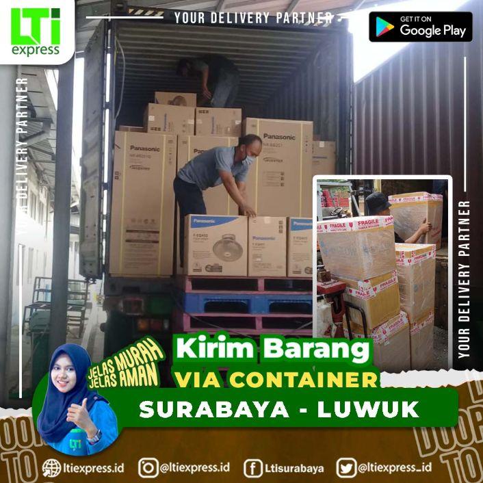 container surabaya luwuk