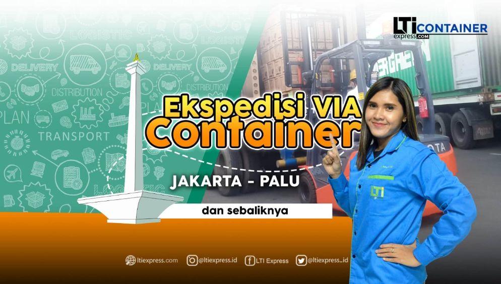 ekspedisi container jakarta palu