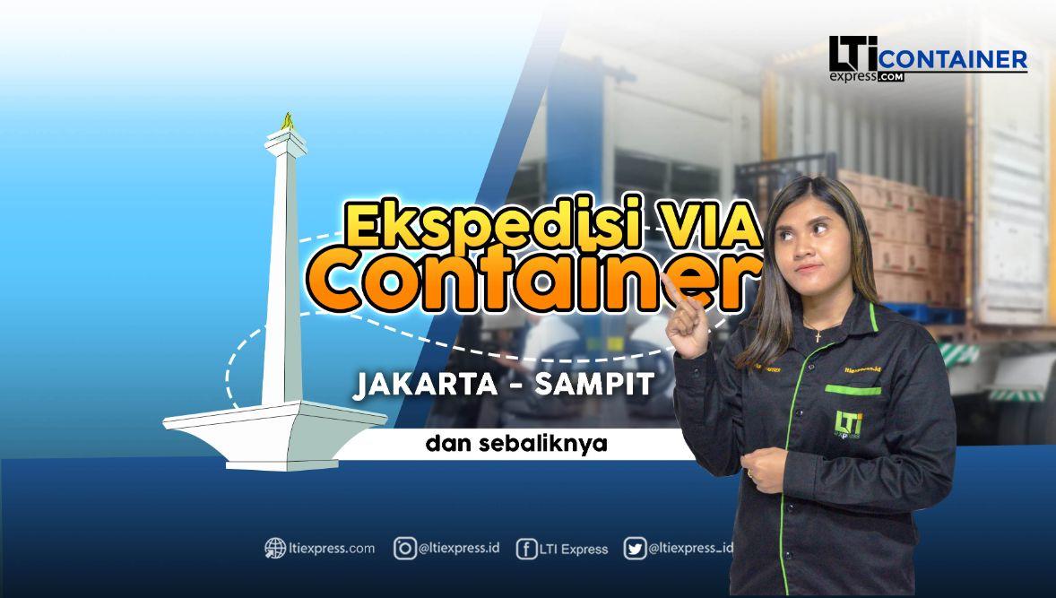 ekspedisi container jakarta sampit