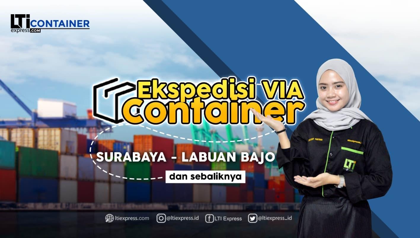 ekspedisi container surabaya labuan bajo