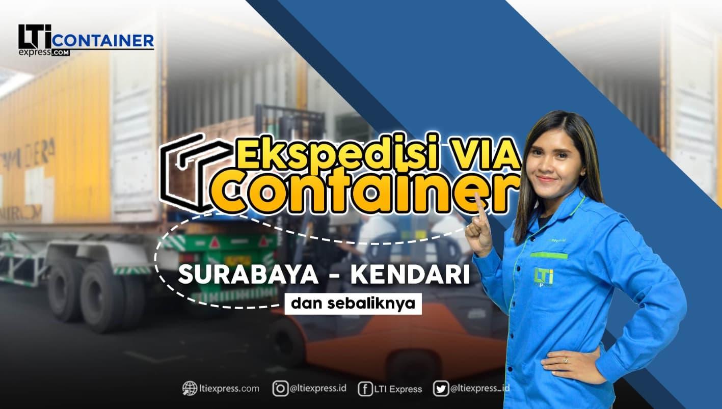 ekspedisi container surabaya kendari