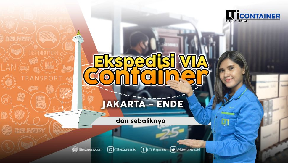 ekspedisi container jakarta ende