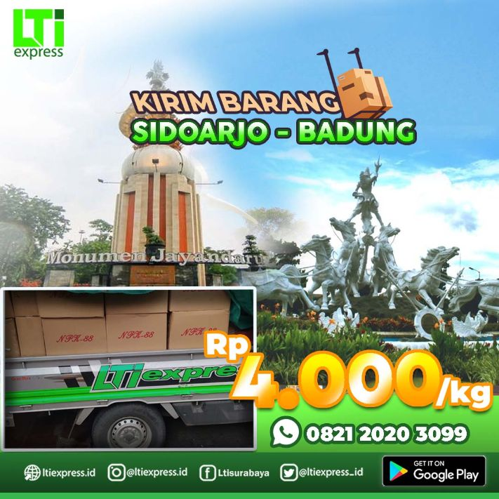 ekspedisi murah sidoarjo badung
