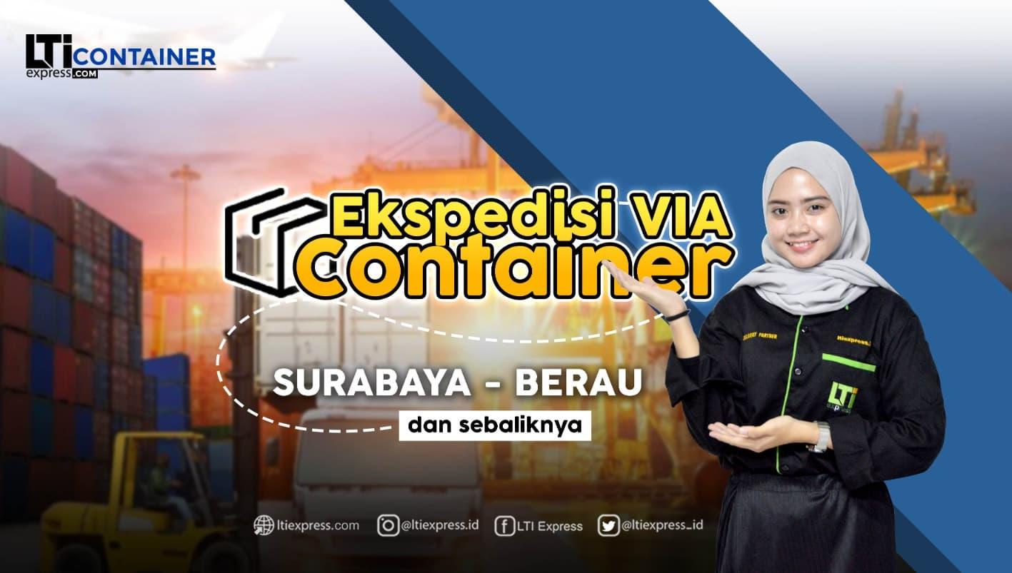 ekspedisi container surabaya berau